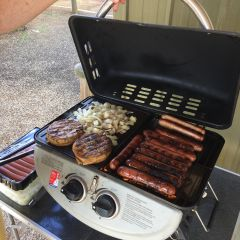 BBQ Lunch - thanks Jen